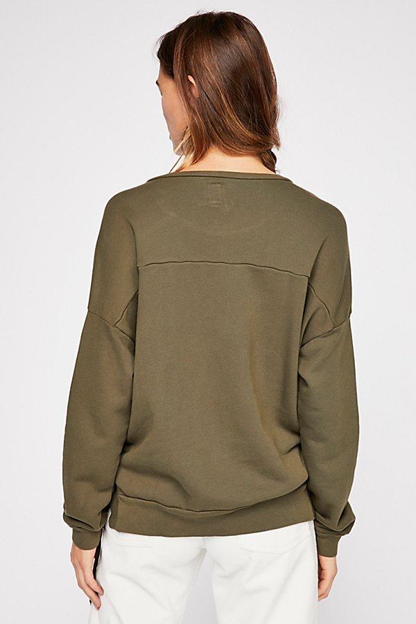 Slide View 2: Rozanne Lace-up Sweatshirt
