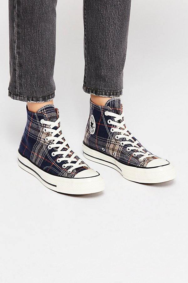 Slide View 2: Plaid Hi-Top Chuck