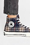 Thumbnail View 3: Plaid Hi-Top Chuck