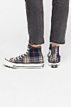 Thumbnail View 4: Plaid Hi-Top Chuck