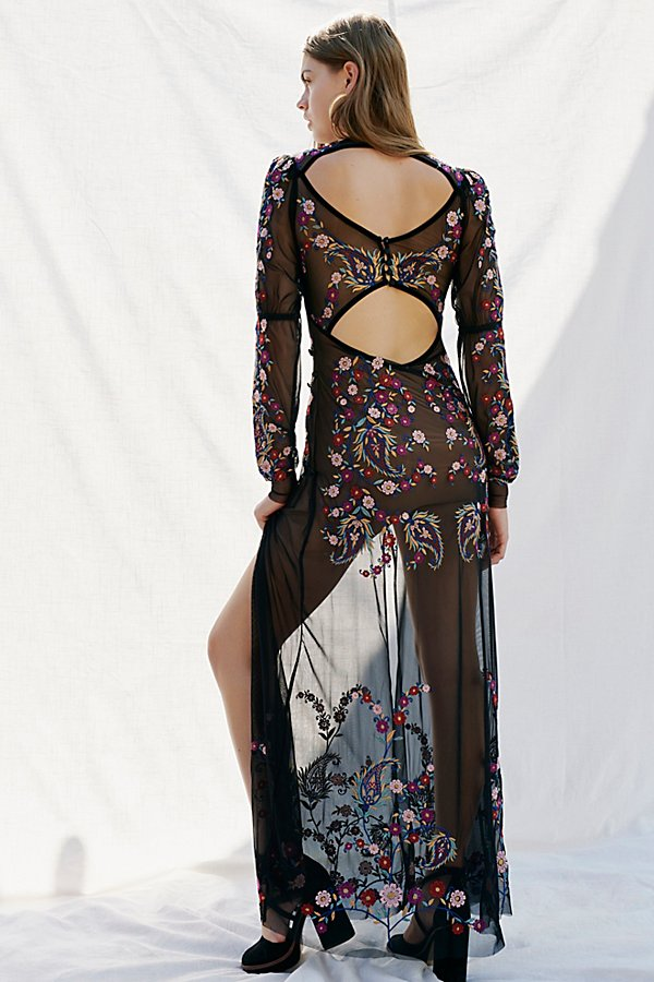 Slide View 2: Ester Embroidery Maxi Dress