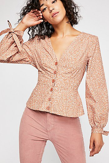 Sienna Printed Top