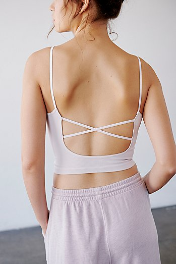 Strappy Back Tighten Up Tank
