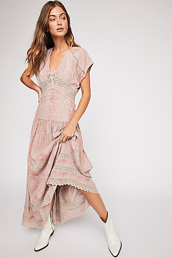 Prairie Flower Maxi Dress