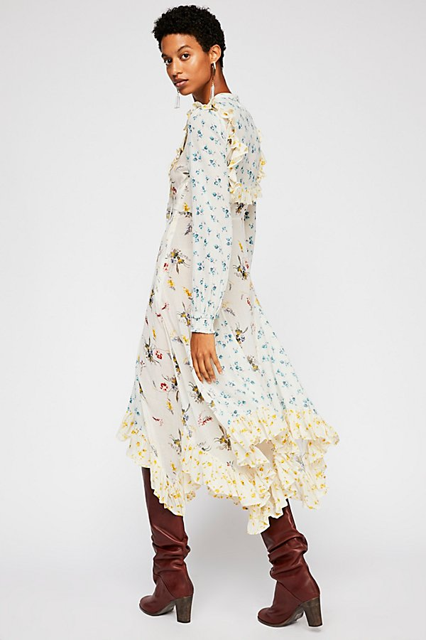 Slide View 3: Bohemian Printed Dress