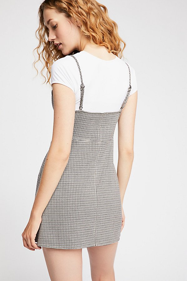 Slide View 5: My Girl Houndstooth Mini Dress