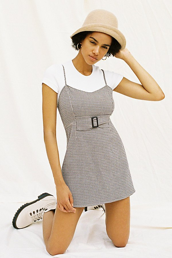 Slide View 1: My Girl Houndstooth Mini Dress