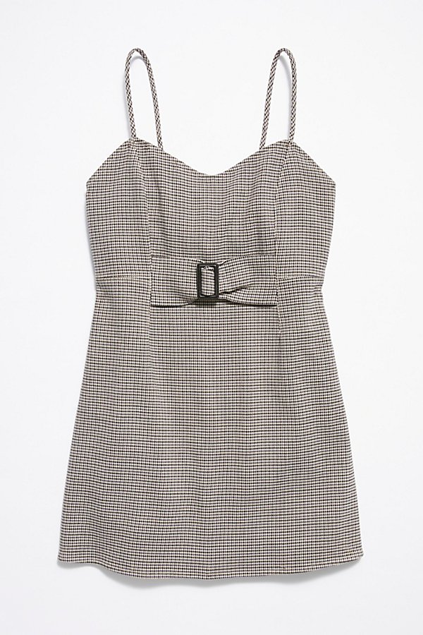 Slide View 7: My Girl Houndstooth Mini Dress