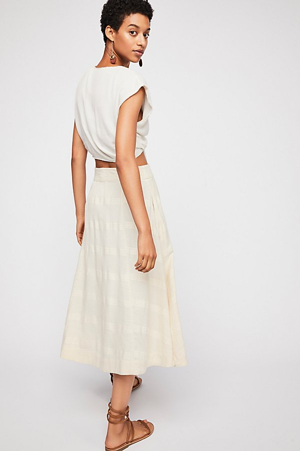 Slide View 3: Rosabella Midi Skirt