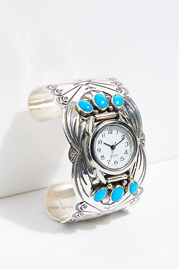 Slide View 2: Turquoise Cuff Watch