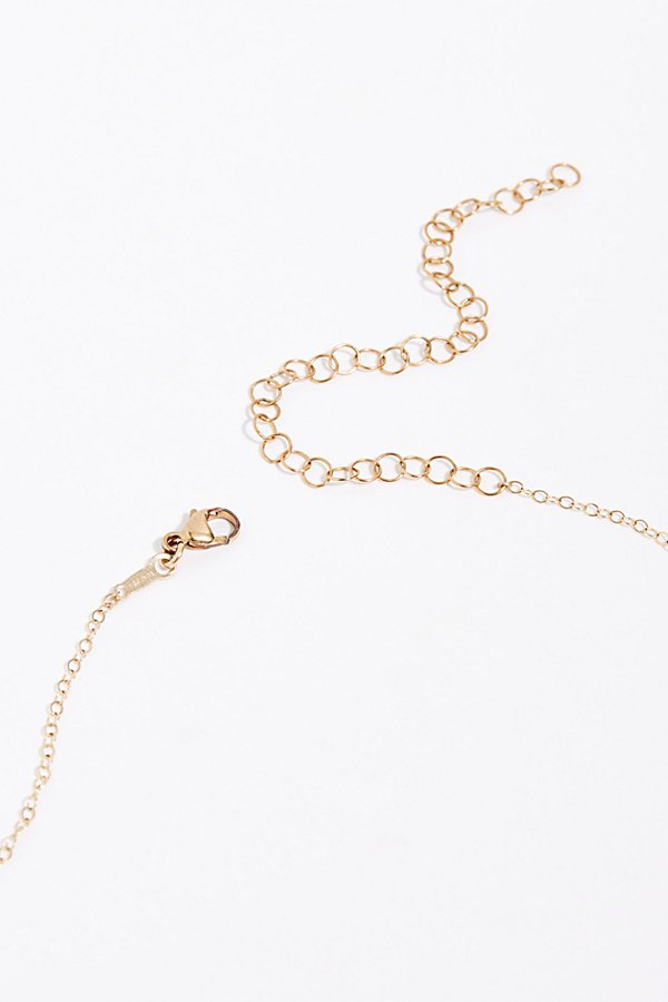Slide View 4: Rosary Drop Lariat Necklace