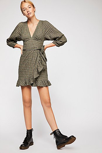 Fargo Wrap Dress
