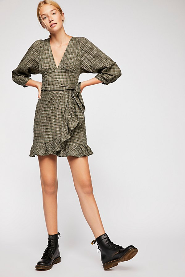 Slide View 1: Fargo Wrap Dress