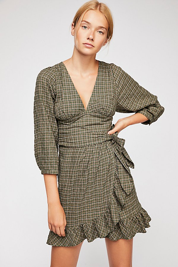 Slide View 2: Fargo Wrap Dress