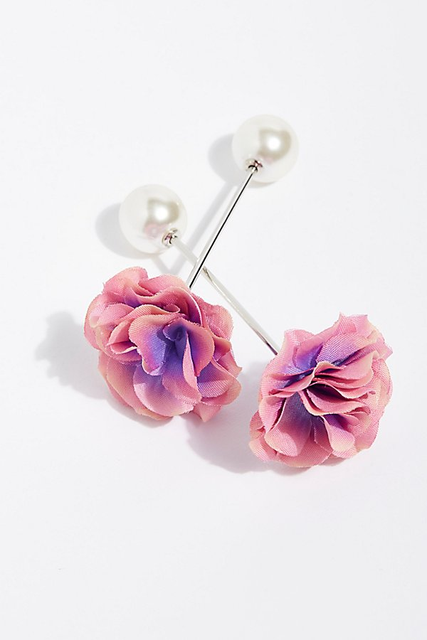 Slide View 2: Petals Hair Pin Set