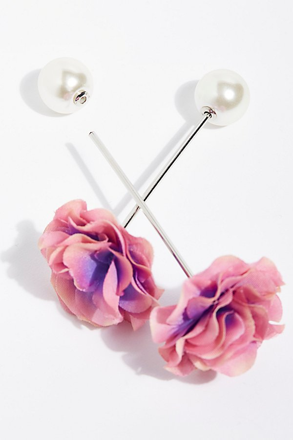 Slide View 3: Petals Hair Pin Set