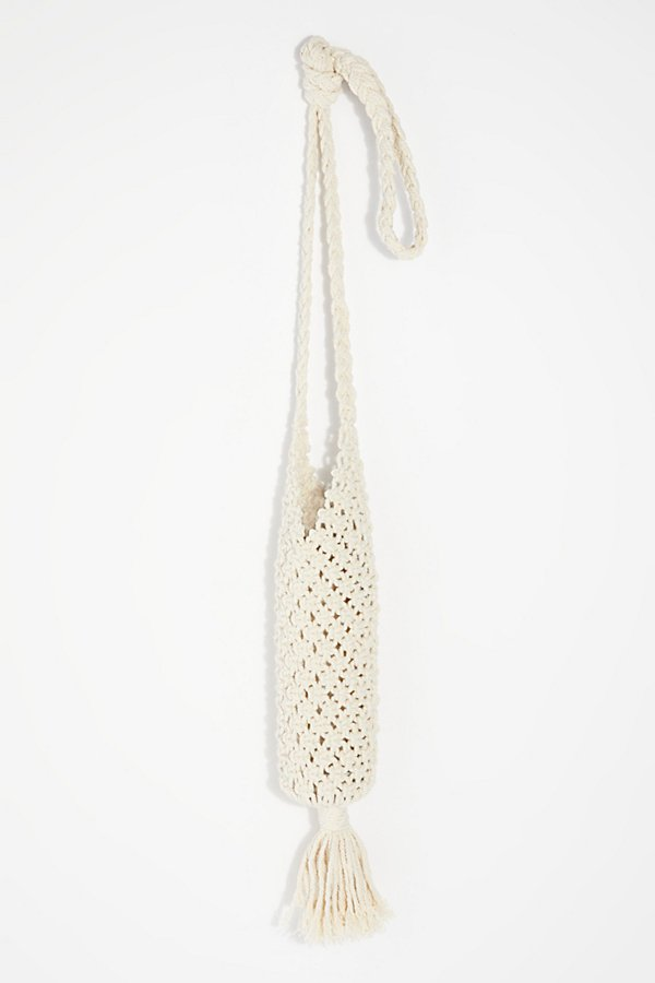 Slide View 2: Macrame Water Bottle