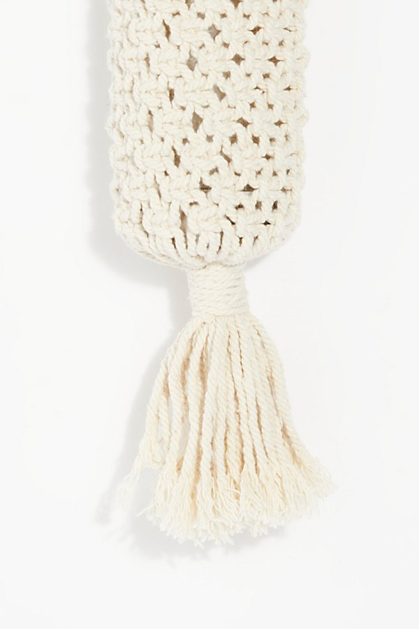 Slide View 3: Macrame Water Bottle