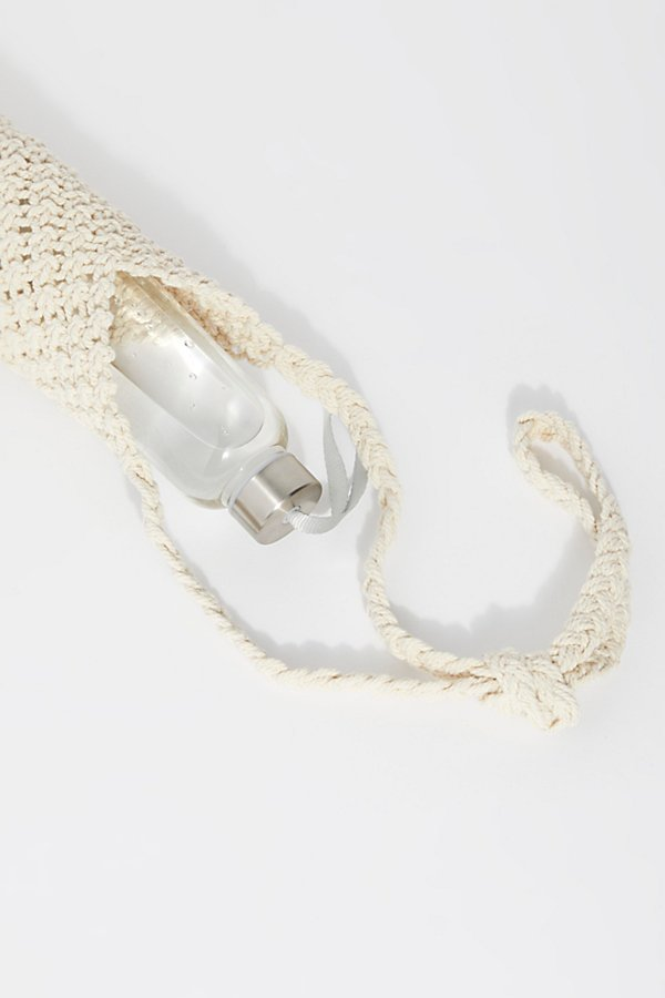 Slide View 6: Macrame Water Bottle