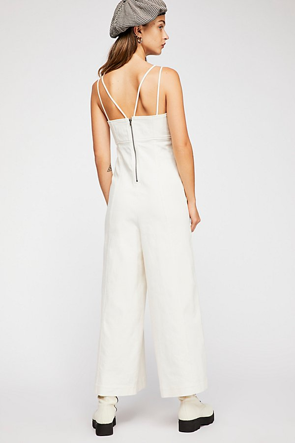 Slide View 2: Daniella Denim Jumpsuit