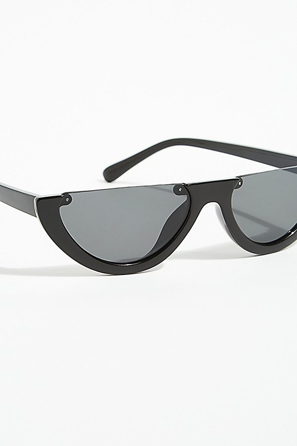Slide View 3: First Glance Half-Frame Sunglasses