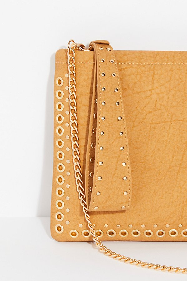 Slide View 3: Moonlight Studded Clutch