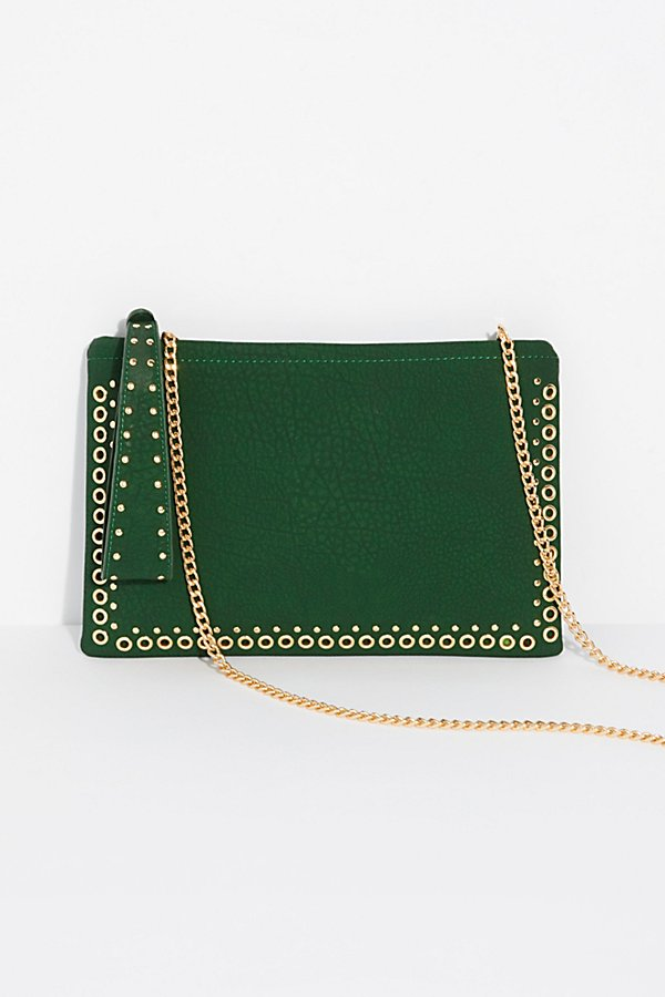 Slide View 1: Moonlight Studded Clutch