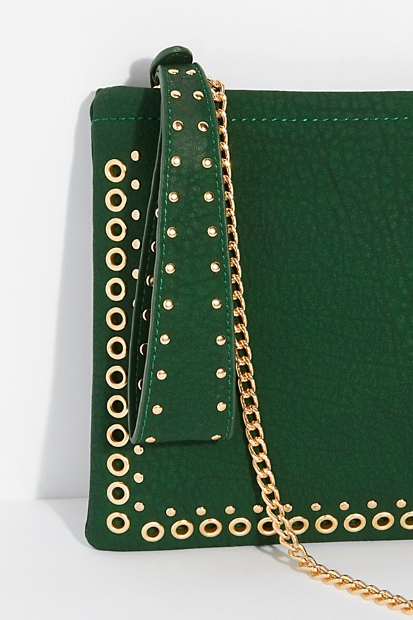 Slide View 2: Moonlight Studded Clutch