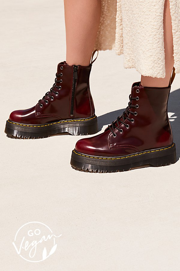 Slide View 1: Dr. Martens Vegan Jadon II Lace-Up Boot