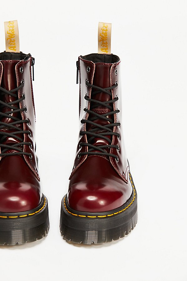 Slide View 3: Dr. Martens Vegan Jadon II Lace-Up Boot