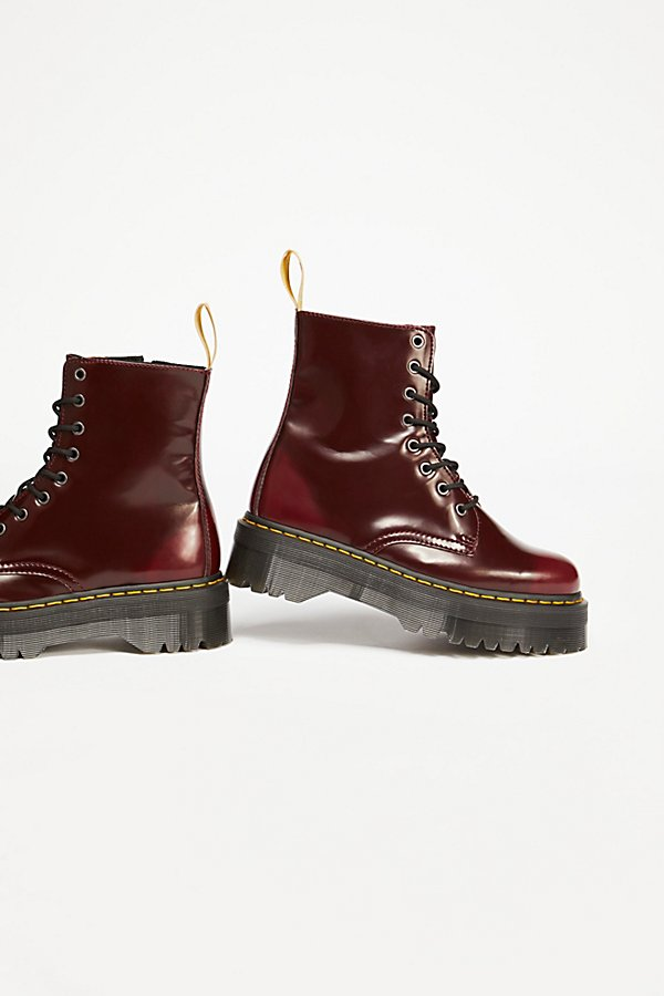 Slide View 4: Dr. Martens Vegan Jadon II Lace-Up Boot