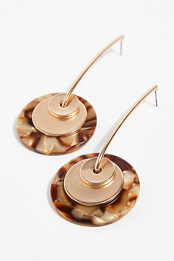 Slide View 3: Resin Pendulum Earrings