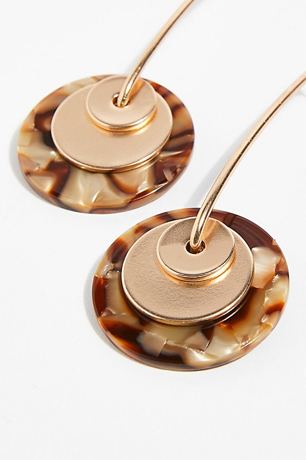 Slide View 4: Resin Pendulum Earrings
