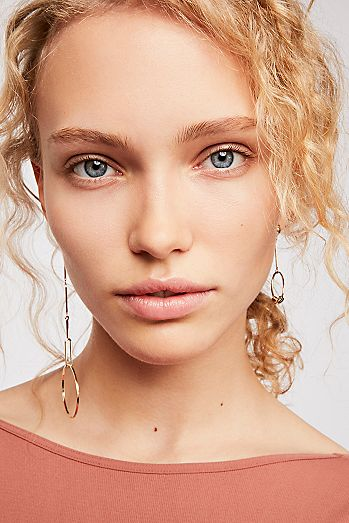 21edbe680 Gold - Asymmetrical Earrings | Free People UK