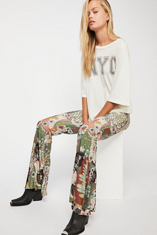 The Janis Printed Bells by Free People