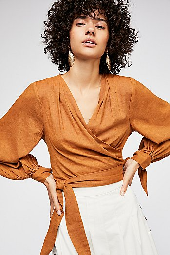 Garvey Wrap Top