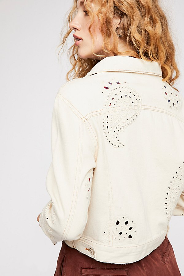 Slide View 2: Eyelet Cutout Jacket