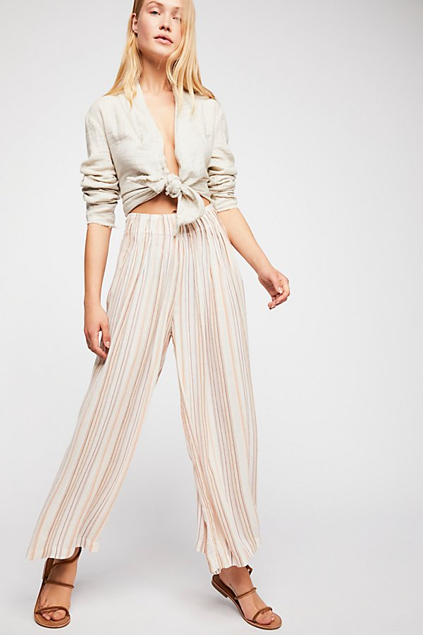 Slide View 1: Piccadilly Wide Leg Trousers