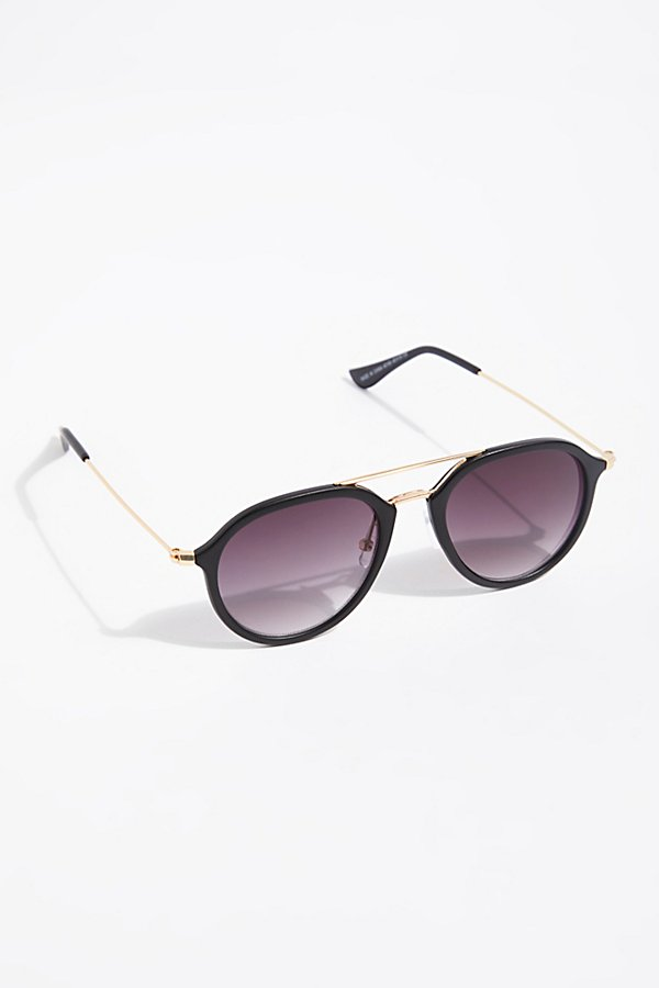 Slide View 2: Rhodes Matte Aviator Sunglasses