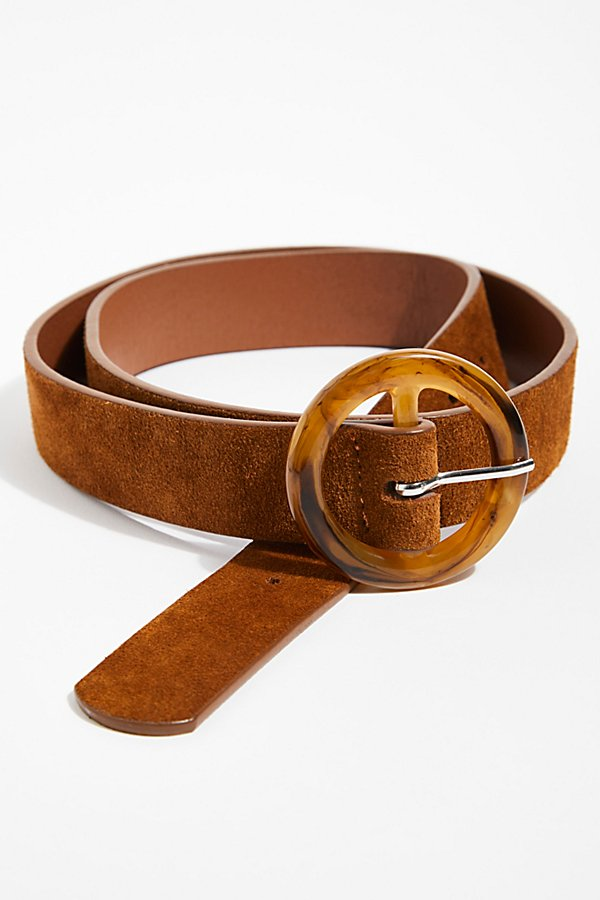 Slide View 2: Dandelion Suede Belt