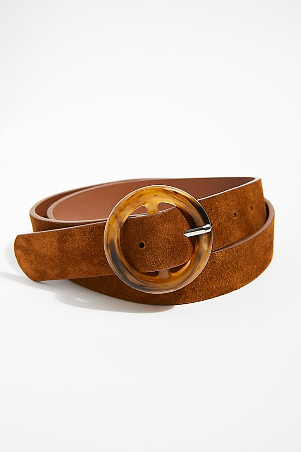 Slide View 3: Dandelion Suede Belt