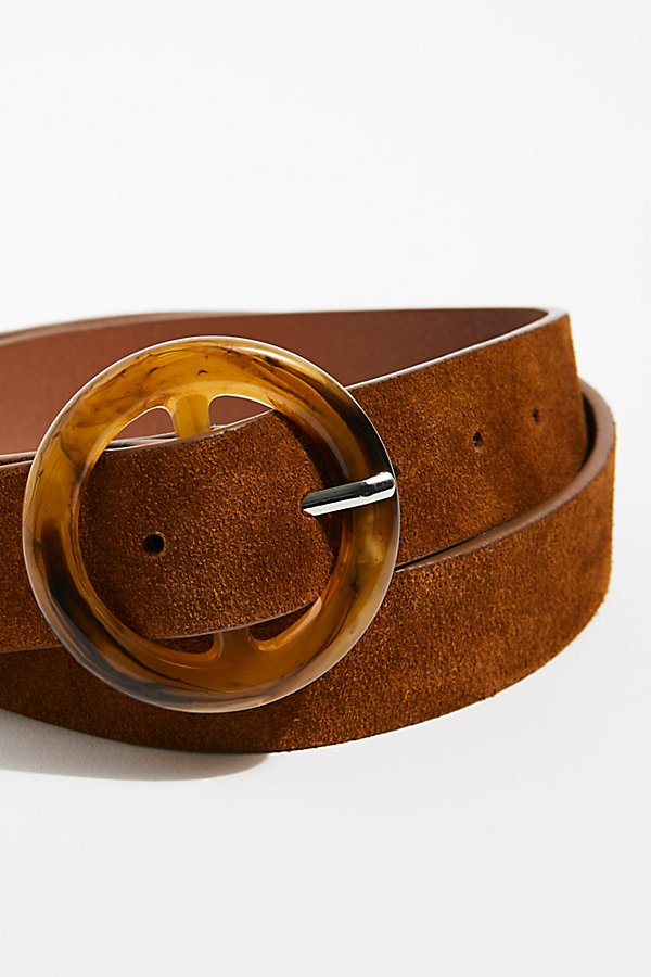 Slide View 4: Dandelion Suede Belt