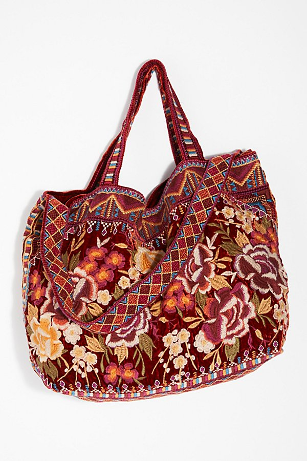 Slide View 4: Velvet Bloom Tote
