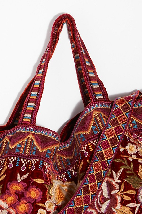 Slide View 5: Velvet Bloom Tote