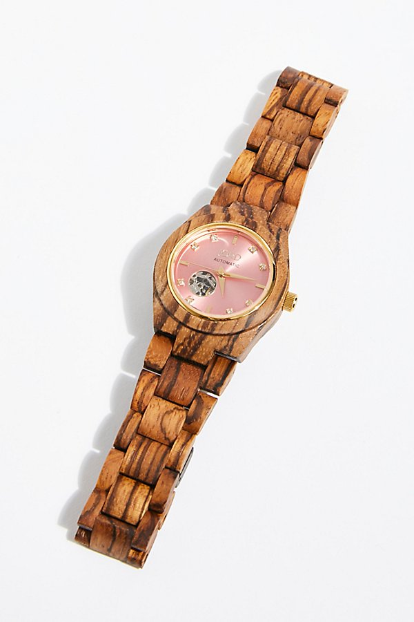 Slide View 1: Cora Zebrawood Watch