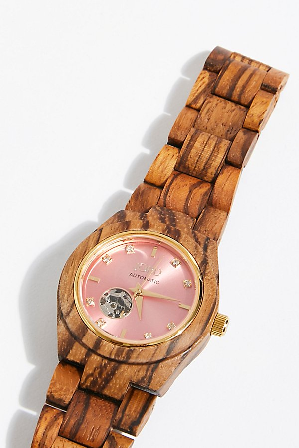 Slide View 2: Cora Zebrawood Watch