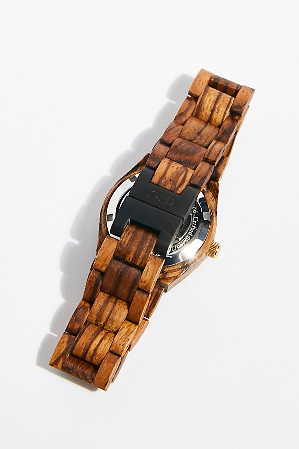 Slide View 3: Cora Zebrawood Watch