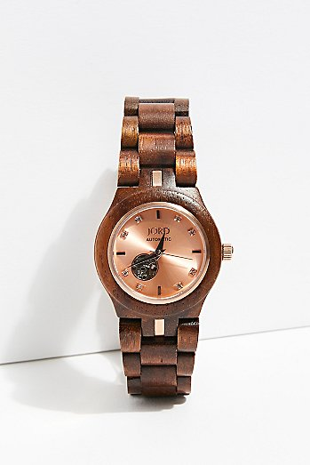 Cora Zebrawood Watch