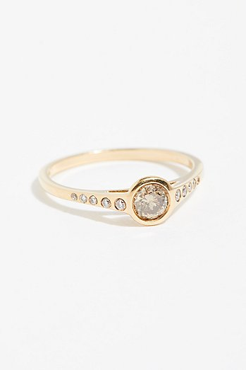 Caldera Diamond Ring