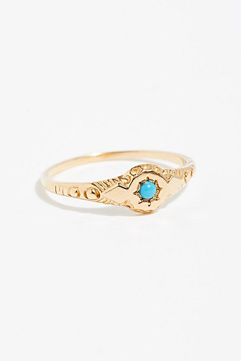 14k Wandering Star Pinky Ring